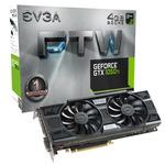 EVGA GeForce GTX 1050 Ti FTW / 1379-1493MHz / 4GB D5 7GHz / 128-bit / DVI, HDMI, DP / 75W (04G-P4-6258-KR)
