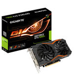 GIGABYTE GeForce GTX 1050 Ti G1 Gaming 4G / 1366-1506MHz / 4GB D5 7GHz / 128-bit / DVI, HDMI, DP / 150W (6) (GV-N105TG1 GAMING-4GD)