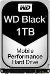 WD Black 1TB / HDD / 2.5 SATA III / 7 200 rpm / 32MB cache / 9.5mm / 5y (WD10JPLX)