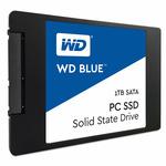WD Blue 1TB / 2.5 / RW: 545 525 MBps / IOPS:100K 80K / MTTF 1.75mh / 7mm / 3y (WDS100T1B0A)