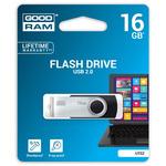 GOODRAM UTS2 16GB černá / Flash disk / USB 2.0 / čtení: 20MBs / zápis: 5MBs (UTS2-0160K0R11)