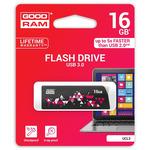 GOODRAM UCL3 16GB černá / Flash disk / USB 3.0 / čtení: 110MBs / zápis: 20MBs (UCL3-0160K0R11)