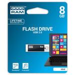 GOODRAM UCU2 8GB černá / Flash disk / USB 2.0 / čtení: 20MBs / zápis: 5MBs (UCU2-0080K0R11)