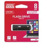 GOODRAM UEG3 8GB černá / Flash disk / USB 3.0 / čtení: 60MBs / zápis: 20MBs (UEG3-0080K0R11)