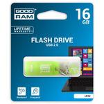 GOODRAM UFR2 16GB zelená s vůní limetky / Flash disk / USB 2.0 / čtení: 20MBs / zápis: 5MBs (UFR2-0160G0R11)