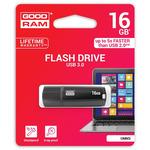 GOODRAM UMM3 16GB černá / Flash disk / USB 3.0 / čtení: 60MBs / zápis: 20MBs (UMM3-0160K0R11)