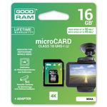 GOODRAM Micro SDHC 16GB / sada micro SDHC a čtečky karet / UHS-I U3 / čtení: 90MBs / zápis: 45 MBs (M3AA-0160R11-DD)