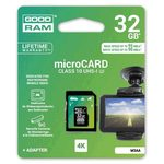 GOODRAM Micro SDHC 32GB / sada micro SDHC a čtečky karet / UHS-I U3 / čtení: 95MBs / zápis: 90 MBs (M3AA-0320R11-DD)