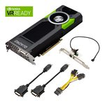 PNY Quadro P5000 / nVidia Quadro P5000 / 16GB GDDR5X / PCIe x16 3.0 / 4x DP + DVI (VCQP5000-PB)