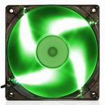 EVOLVEO ventilátor 120mm LED zelený (FAN 12 GREEN)
