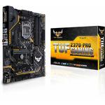 ASUS TUF Z370-PRO GAMING / Z370 / LGA 1151 / 4x DDR4 / 3x PCIEx16 / 3x PCIEx1 / 2x M.2 / 10x USB 3.1