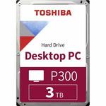 TOSHIBA P300 3TB / Interní disk / 3.5 / Výkonný / 64MB cache / SATA III / bulk (HDWD130UZSVA)