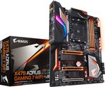GIGABYTE X470 AORUS GAMING 7 WIFI rev.1.0 / AMD X470 / DDR4 / SATA III / M.2 / USB 3.1 / GLAN / sc.AM4 / ATX (GA-X470-AORUS GAMING 7 WIFI)