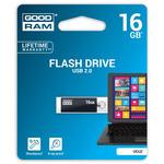 GOODRAM UCU2 16GB černá / Flash disk / USB 2.0 / čtení: 20MBs / zápis: 5MBs (UCU2-0160K0R11)