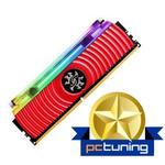 ADATA XPG Spectrix D80 8GB 3000MHz červená / DIMM / DDR4 / CL16 / XMP / 1.35V (AX4U300038G16-SR80)