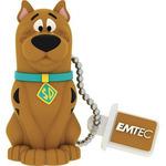 EMTEC HB102 Scooby Doo 16GB hnědá / Flash disk / USB 2.0 / čtení: 15MBs / zápis: 5MBs (ECMMD16GHB106)