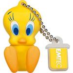 EMTEC L100 Tweety 16GB žlutá / Flash disk / USB 2.0 / čtení: 15MBs / zápis: 5MBs (ECMMD16GL100)
