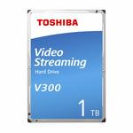 Toshiba V300 1TB / 3.5 / 5 700 rpm / 64MB cache / SATA III / Interní / 2y / Bulk (HDWU110UZSVA)