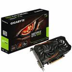 GIGABYTE GeForce GTX 1050 OC 3G / 1442-1582MHz / 2GB GDDR5 7GHz / 98-bit / DVI + HDMI + DP / 300W (G