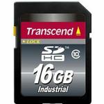 Transcend 16GB SDHC Industrial / průmyslová paměťová karta / SDHC / Class 10 (TS16GSDHC10I)