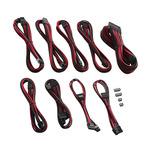CableMod PRO ModMesh C-Series Kabel Kit pro Corsair AXi HXi RM - černo-červená (CM-PCSI-FKIT-NKKR-R)