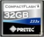 Pretec Compact Flash karta 233x 32GB (PCCF32G)