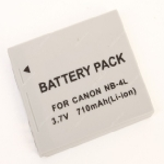 Extreme Energy baterie Canon NB-4L / akumulátor / LI-ION / 710mAh / šedá (Canon NB-4L)