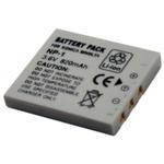 Baterie Minolta NP-1 / akumulátor / LI-ION / 820 mAh / šedá (Minolta NP-1)