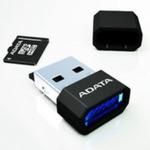 ADATA micro SDHC karta 16GB + USB čtečka / Class 4 / R: 14MB/s / W: 5MB/s (AUSDH16GCL4-RM3BKBL)