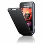 Samsung pouzdro flip pro Samsung S5230 - black (EF-C888BBECSTD)