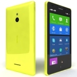 Nokia XL DS / CZ distribuce / 5 / 5 MPix / Android 4.1 / Dual SIM / žlutá (A00018886)