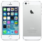 Apple iPhone 5S - 16GB refurbished / iOS7.0CZ / silver / EU