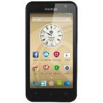 Prestigio MultiPhone 3450 DUO / 4.5 IPS / Quad-Core 1.3GHz / 512MB RAM / 4GB / Android 4.4 / Dual SIM / Černá (PSP3450DUOBLACK)