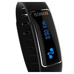 Technaxx ELEGANCE TX-39 / Fitness náramek / OLED / Bluetooth 4.0 / Android / iOS / černý / výprodej (4448)