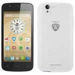 PRESTIGIO MultiPhone 5504 DUO / 5qHD IPS / Dual SIM / Android 4.4 / Q-C 1.3GHz / 1GB / 8GB / MicroSD / bílý (PSP5504DUOWHITE)