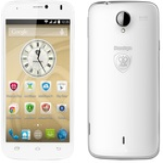 PRESTIGIO MultiPhone 3502 DUO / 5 IPS / Dual SIM / Android 4.4 / Q-C 1.3GHz / 512MB RAM / 4GB / 8Mpx / MicroSD / bílý (PSP3502DUOWHITE)