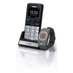 Maxcom MM715 + SOS náramek / CZ distribuce / SOS tlačítko / / barevný displej / microSD / černá (MM715SOS)