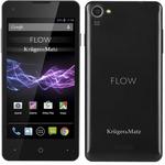 KrugerMatz FLOW KM0416-black LTE / DUALSIM / 4.5 QHD / Q-C 1.4GHz / 1GB RAM / 8GB / WiFi / BT / GPS / Android 4.4 (KM 0416)