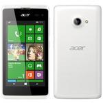 Acer Liquid M220 / 4 TFT 800x480 / Dual-Core 1.2GHz / 512MB RAM / 4GB / 3G / 5MPx / microSD / Windows Phone 8.1 / Bílý (HM.HMHEU.002)