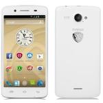 Prestigio MultiPhone 5507 DUO / CZ / 5 HD IPS / 8 MPix / Quad 1.2GHz / 1GB RAM / 8GB / DualSIM / Android 4.4 / bílá (PSP5507DUOWHITE)
