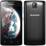 Lenovo A1000 Dual-SIM / 4.0 / Quad-Core 1.3GHz / 1GB RAM / 8GB / 5MP / Android 5.0 / Černý (PA1R0033CZ)
