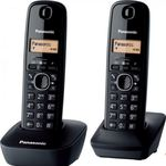 Panasonic KX-TGB212FXB Twinpack / CLIP / telefonní seznam na 50 jmen / české menu / bílý (KX-TGB212FXB)