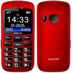 Aligator A670 Senior / CZ distribuce / SOS tlačítko / / červený (A670R)