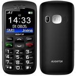 Aligator A670 Senior / CZ distribuce / SOS tlačítko / / černý (A670B)