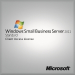 Windows Small Business Server CAL 2011 64Bit English 1pk OEM 5 Clt User CAL (6UA-03599)