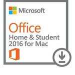 Microsoft Office Mac 2016 pro domácnosti EN, 1 PC / Elektronická licence / Bez časového omezení (GZA-00550)