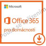 Microsoft Office 365 Home Premium / pro domácnosti 5 PC a 5 Tabletů / předplatné na 1 rok / Promo / Elektronická licence (6GQ-00092?PROMO)