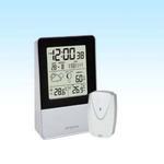 LCD Meteostanice Orava MC-90 / venkovní čidlo / funkce budík / stříbrná (MC-90)