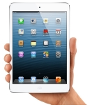 Apple iPad mini 64GB / Wi-fi / 10h v�dr� / 2x kamera  / A5 chip / b�l�