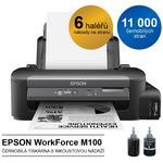 EPSON WorkForce M105 / černobílá tiskárna / A4 / Wi-Fi / černá (C11CC85301)